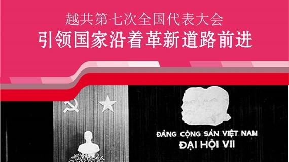 图表新闻:越共第七次全国代表大会:引导国家沿着革新道路前进