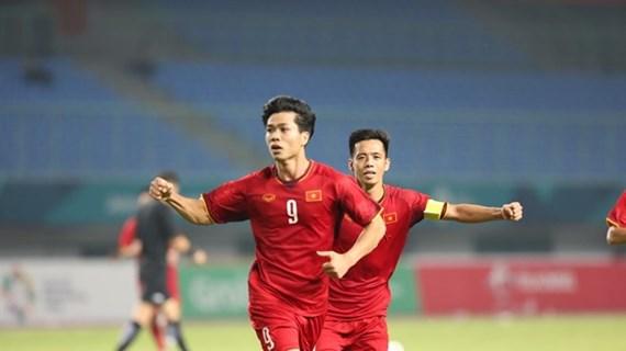 越南国奥队4连胜杀入亚运会8强 将迎战叙利亚队