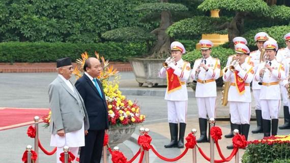 越南与尼泊尔发表联合声明