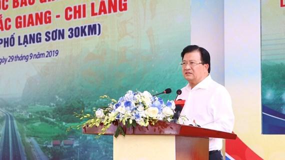 越南政府副总理郑廷勇出席北江-谅山高速公路通车仪式