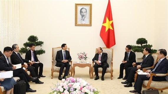越南政府总理阮春福会见中国农业农村部部长韩长赋