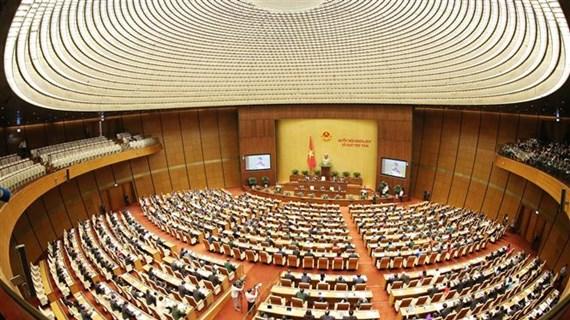 越南第十四届国会第八次会议隆重开幕