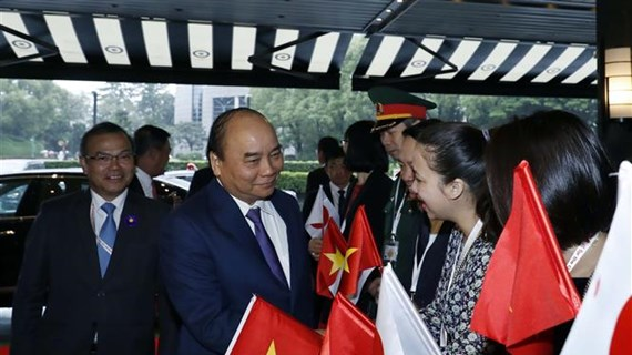 越南政府总理阮春福赴日出席日本天皇即位庆典