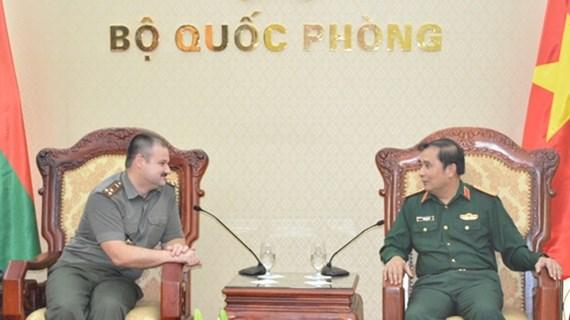 越南与白俄罗斯促进军事科学合作