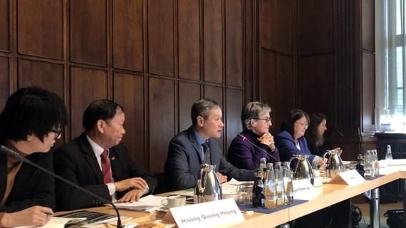 越南驻德国大使:越德医疗卫生领域合作潜力巨大