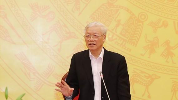 越共中央总书记、国家主席阮富仲:致力建设作风优良、能力过硬的人民公安队伍