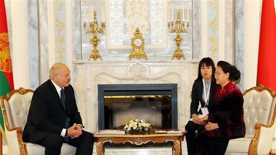 越南国会主席阮氏金银圆满结束对俄罗斯和白俄罗斯的访问之旅