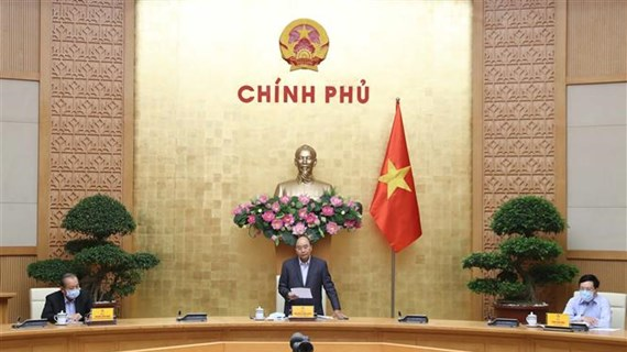 阮春福总理:上下一心、团结一致使疫情防控工作得以更快速、更高效进展