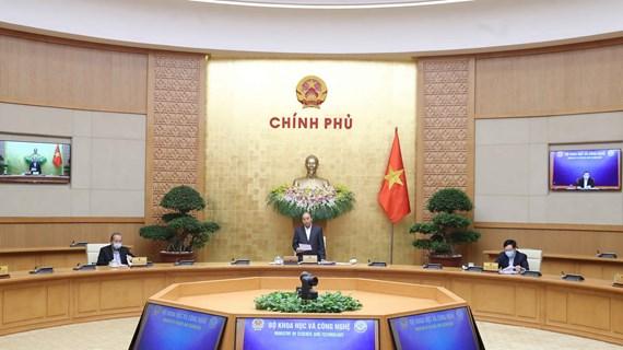 政府总理阮春福:坚决不让经济崩塌