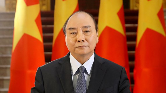 """政府总理阮春福:""""大努力""""和""""大团结""""是战胜疫情的关键"""