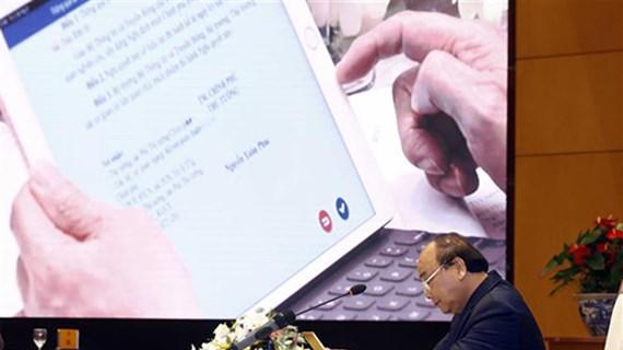 越南力争跻身全球电子政务五十强行列