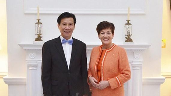 越南驻新西兰大使谢文聪:越南与新西兰加强多个领域上加强密切合作