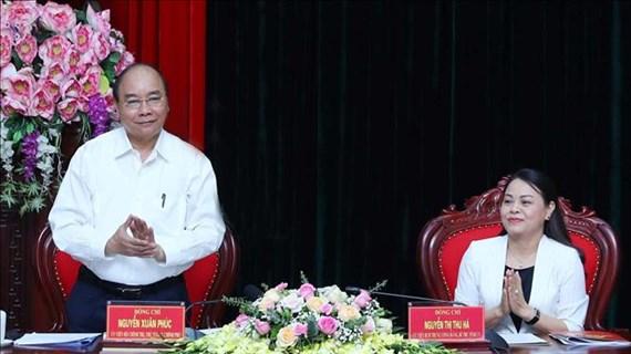 越南政府总理阮春福:宁平省应继续在公共投资资金拨付进度上保持领先地位