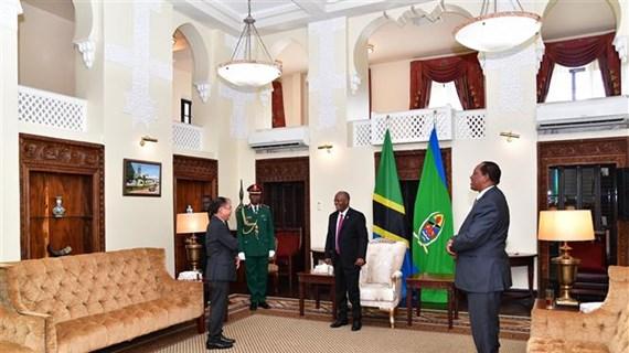 越南与坦桑尼亚友好合作关系不断深入发展