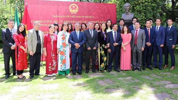 越南驻墨西哥大使馆举行国庆庆祝活动