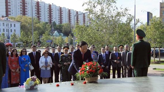 越南国庆75周年庆祝活动在俄罗斯和阿根廷举行