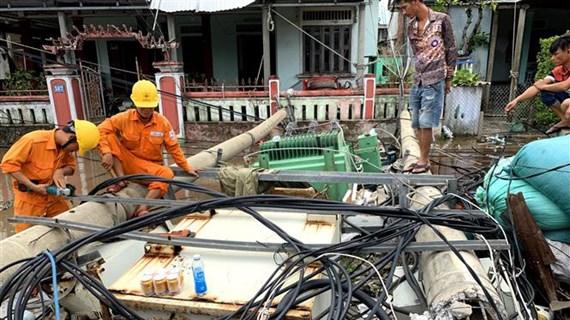 全力做好台风过后恢复重建工作