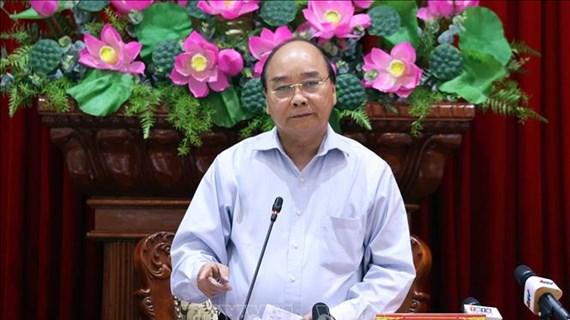 阮春福总理:决不让任何一户家庭因干旱和海水入侵而缺乏生活用水
