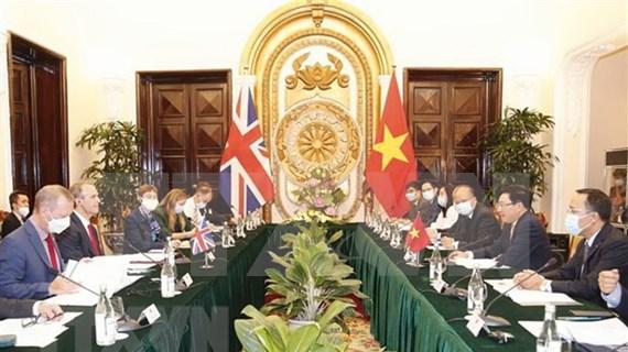 越南与英国发表关于战略伙伴关系的联合声明