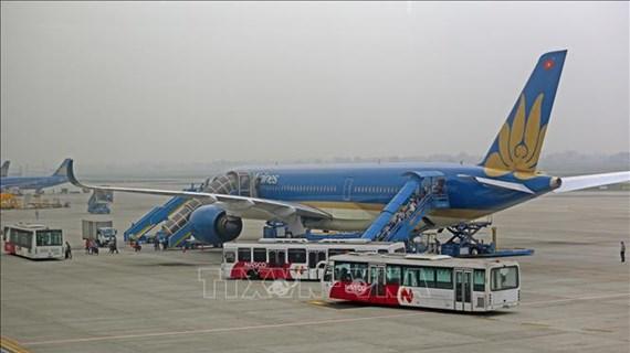 将在安哥拉的近330名越南公民接回国