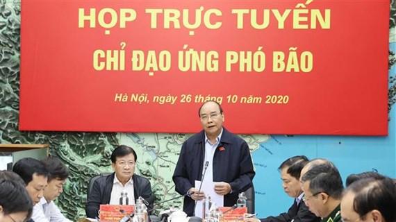 政府总理阮春福:全力做好第九号台风防范应对工作  把人员和财产转移到安全地带