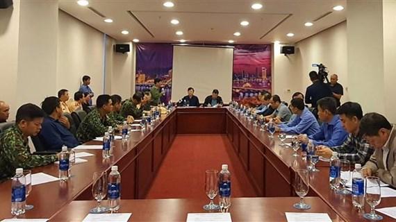 第九号台风防御工作:政府副总理郑廷勇要求把在危险海域的船只迁移到安全地带
