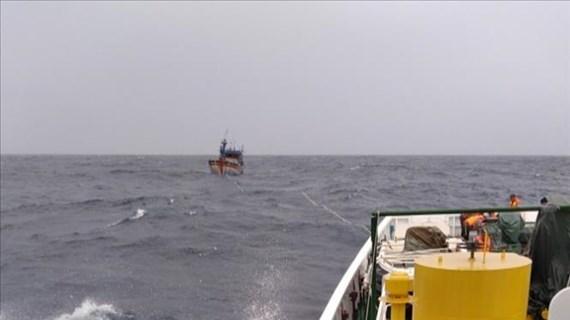 平定省26名渔民失踪事件:在海上遇险的3名渔民成功获救