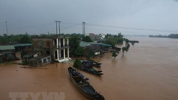 印度政府向越南中部各省受灾灾民提供援助