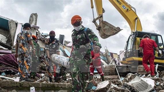 阮春福就印尼发生强烈地震和一客机坠毁向印尼总统致慰问电