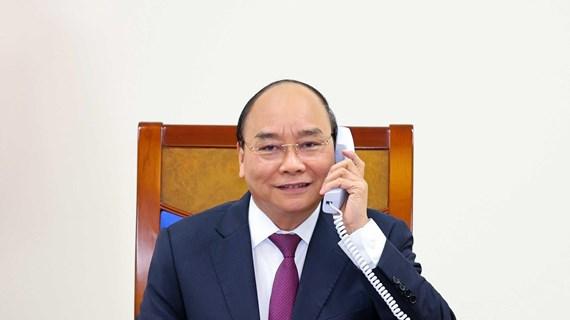 政府总理阮春福与澳大利亚总理斯科特·莫里森通电话