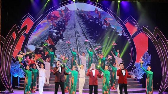 1000名艺术家参加庆祝越共十三大文艺演出活动