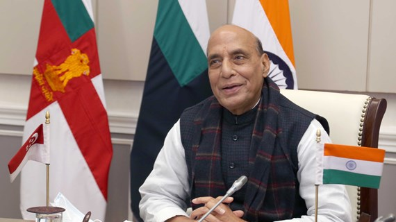 第5次印度与新加坡国防部长对话以视频形式召开