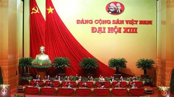 外国政党、组织和国际友人祝贺越共十三大召开