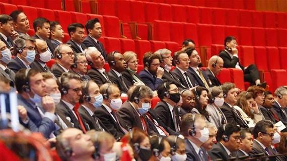 老挝人民革命党中央委员会致电祝贺越共十三大召开