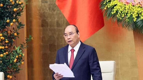 越南政府总理阮春福:更加及时地开展新冠疫苗接种工作