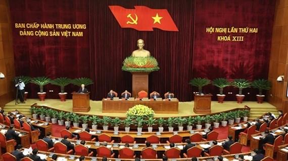 越共十三届中央委员会第一次会议:健全国家机构领导职务