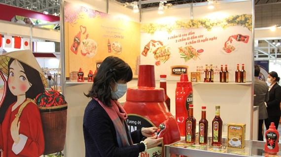 越南在日本国际食品与饮料展推介农产品和食品