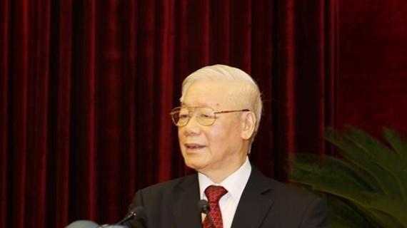  越共十三届中央委员会第二次全体会议落幕