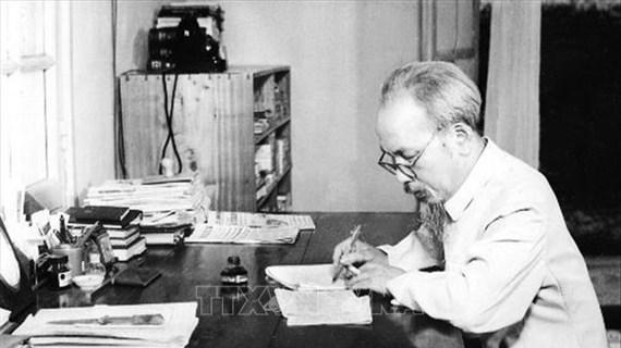 《胡志明与希望越南和平的信件》一书在意大利出版发行