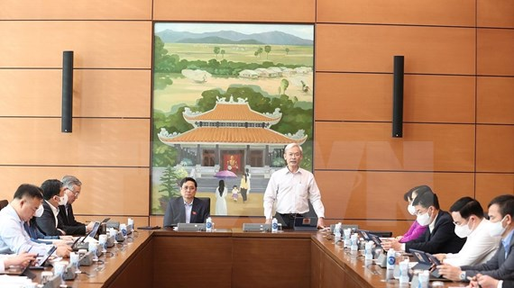 越南第十五届国会第二次会议:国会代表就经济社会问题和两部法律草案进行分组讨论