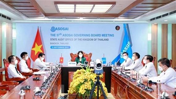 越南国家审计署一直本着主动灵活和创新的精神出色完成ASOSAI 14 主席任务