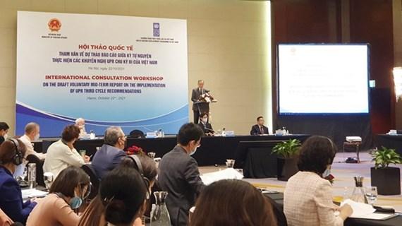 联合国开发计划署代表对越南将竞选成为联合国人权理事会成员充满信心