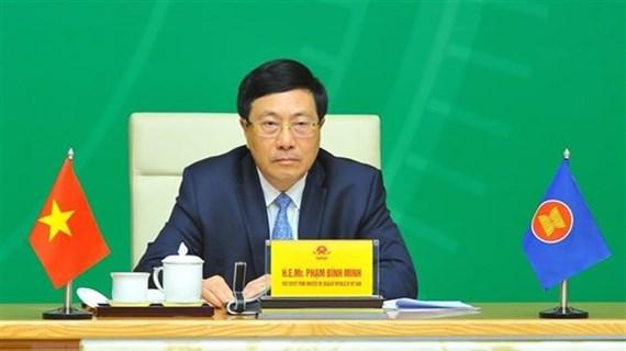  越南政府常务副总理范平明:东盟十分需要企业在适应新常态中的主动创新精神