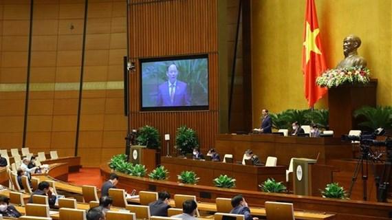 第十五届国会第二次会议:就两项法律草案提出意见