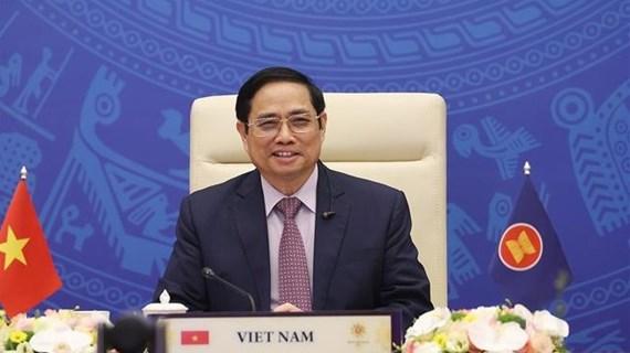 政府总理范明政建议印度继续支持东盟维护东海和平、安全和稳定的努力
