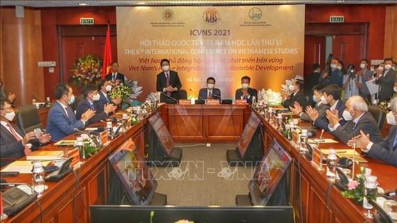 第六次越南学国际研讨会开幕:越南主动融入国际社会实现可持续发展
