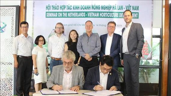 越南与荷兰促进农业领域的合作