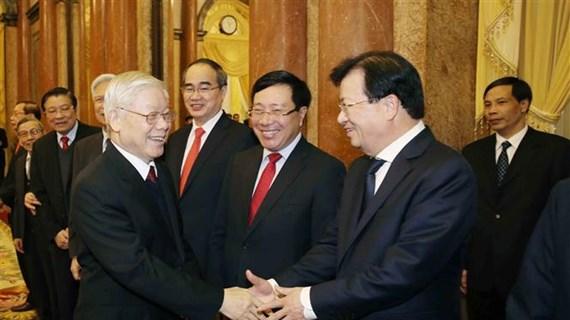 阮富仲:将潜力转化为国家建设与保卫的资源