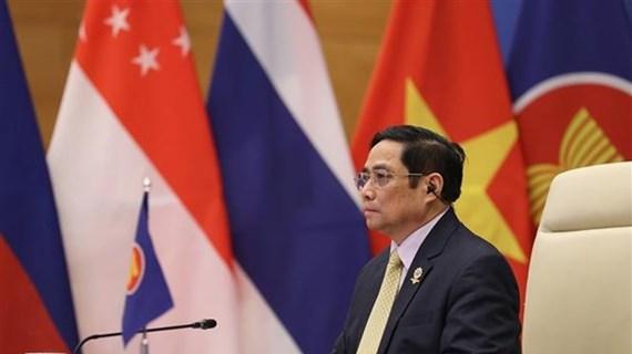 范明政总理:越南承诺在担任东盟—韩国关系协调国期间取得丰硕成果