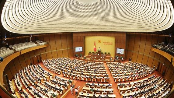 越南第十四届国会第八次会议隆重开幕(组图)